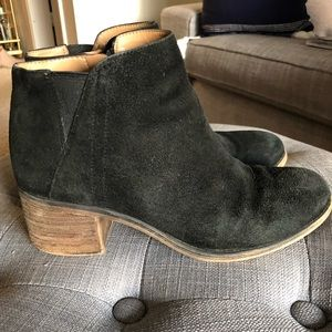 Franco Sarto Melville Distressed Ankle Boots